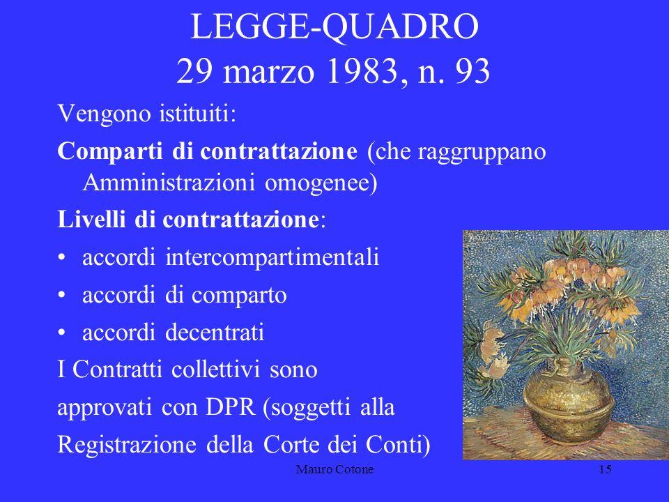 Mauro Cotone14 LEGGE 11 LUGLIO 1980, N.