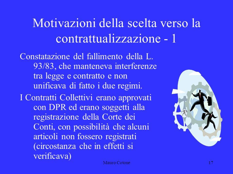 Mauro Cotone16 LEGGE-DELEGA Legge 23 ottobre 1992, n.