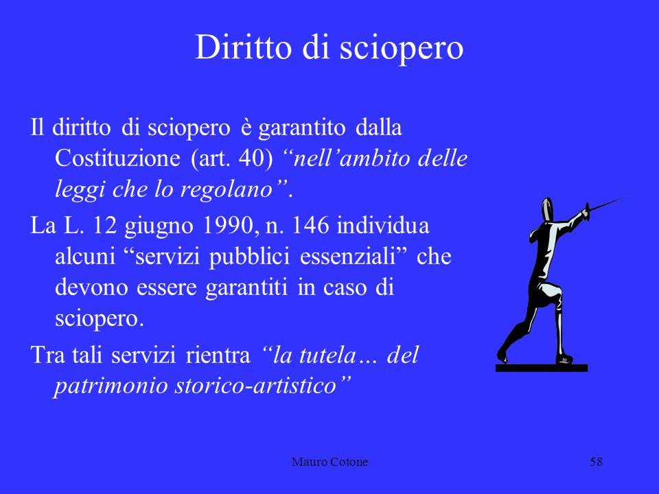 Mauro Cotone57 Contratto Collettivo Integrativo di Ministero Previsto dallart.