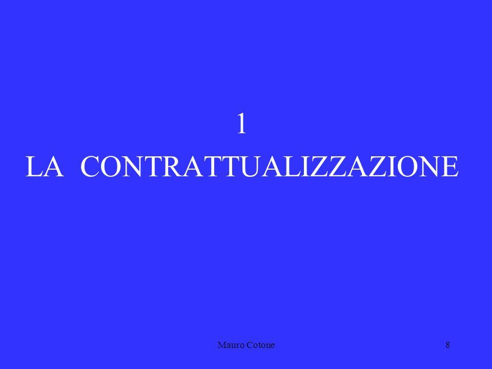 Mauro Cotone7 Rispetto della gerarchia delle fonti Rispondenza alla Costituzione e alle leggi Il controllo sulla rispondenza delle leggi ai contenuti della Costituzione è effettuato dalla Corte costituzionale.