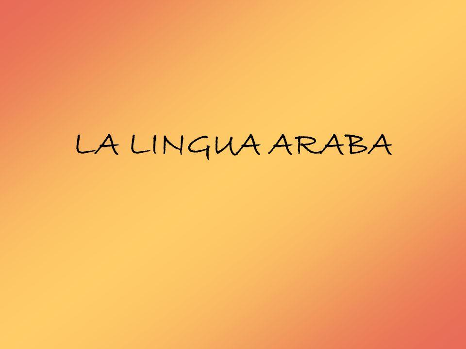 ORIGINE L alfabeto arabo deriva dall alfabeto nabateo o da quello siriaco, per quanto la prima ipotesi sia solitamente la più accettata.