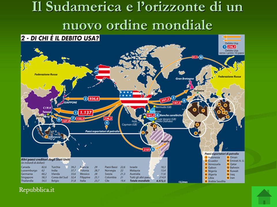 Il Sudamerica e lorizzonte di un nuovo ordine mondiale Repubblica.it