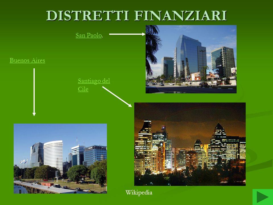 DISTRETTI FINANZIARI Buenos Aires San Paolo. Santiago del Cile Wikipedia