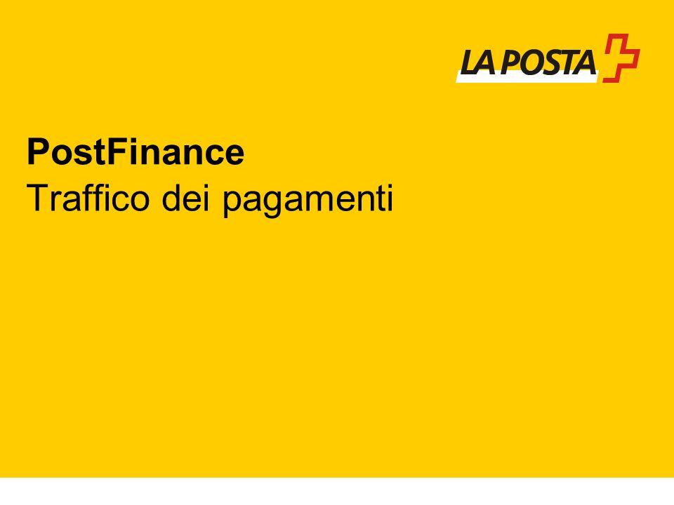 PostFinance Traffico dei pagamenti