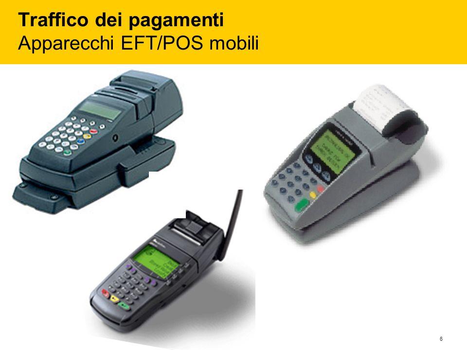6 Traffico dei pagamenti Apparecchi EFT/POS mobili