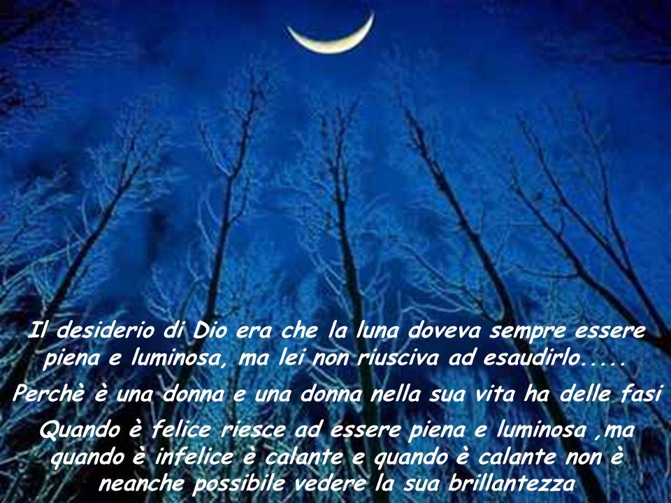 La Luna quando è molto triste ricorre allaiuto delle stelle, che fanno di tutto per consolarla, ma quasi sempre non ci riescono Tuttoggi loro vivono c