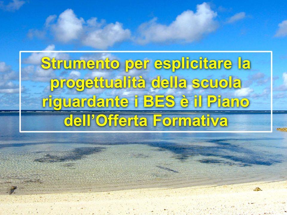 PEPER Laura Barbirato- Evelina Chiocca BES 2013 Strumento per esplicitare la progettualità della scuola riguardante i BES è il Piano dellOfferta Forma