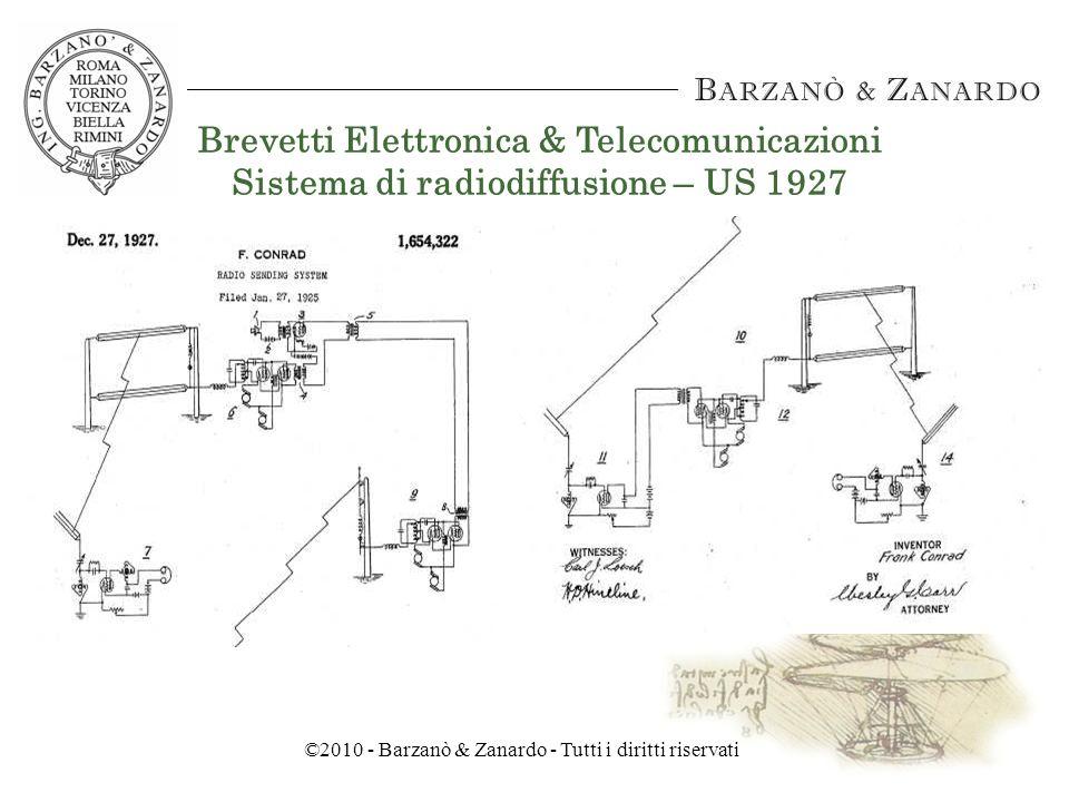 ©2010 - Barzanò & Zanardo - Tutti i diritti riservati WEB, DESIGN E PROPRIETA INTELLETTUALE Rovigo, 12 Aprile 2010 LA PROTEZIONE DEL SOFTWARE Ing.