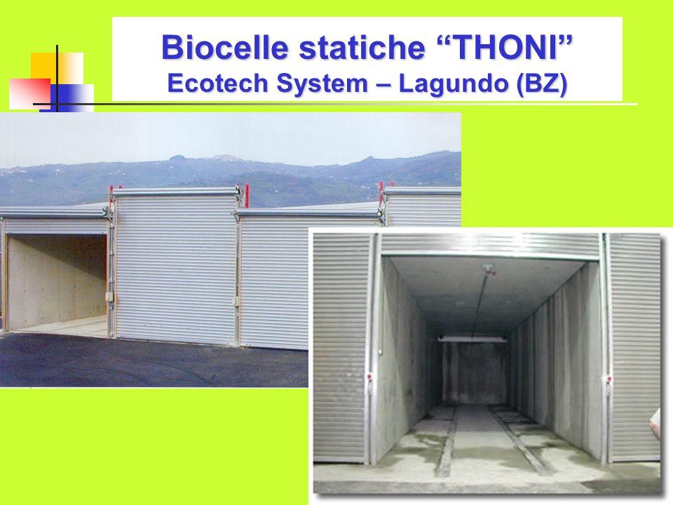 Biocelle statiche THONI Ecotech System – Lagundo (BZ)