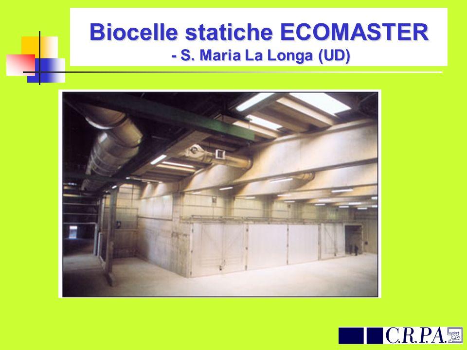 Biocelle statiche ECOMASTER - S. Maria La Longa (UD)