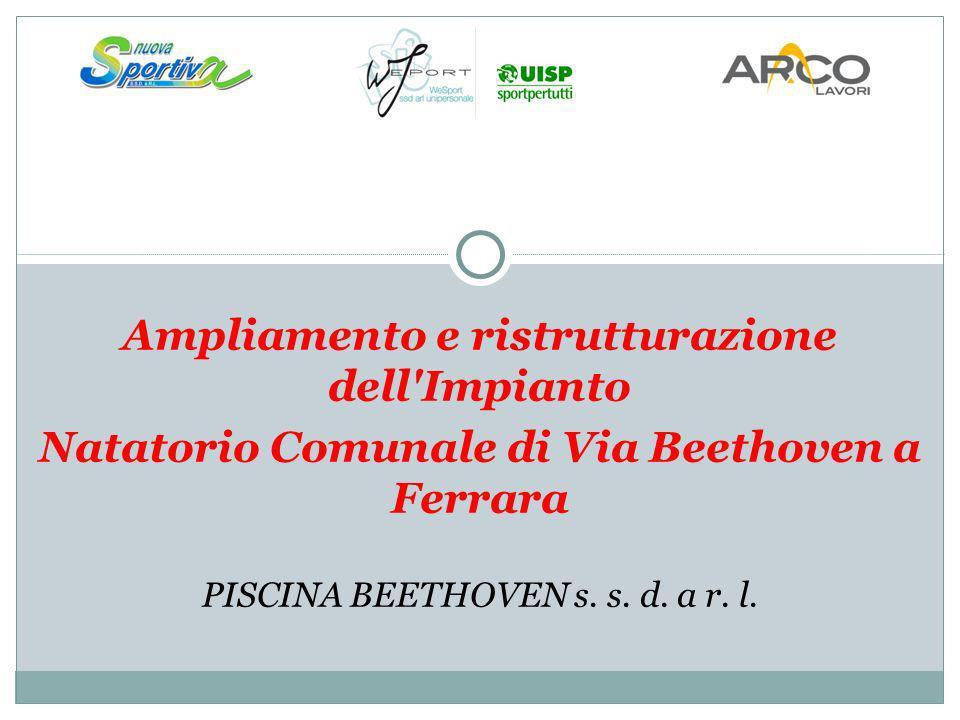 Ampliamento e ristrutturazione dell'Impianto Natatorio Comunale di Via Beethoven a Ferrara PISCINA BEETHOVEN s. s. d. a r. l.