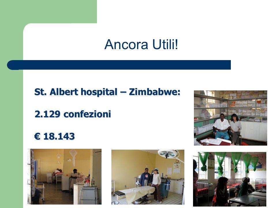 St. Albert hospital – Zimbabwe: 2.129 confezioni 18.143