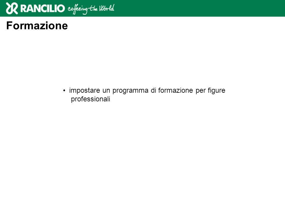 Formazione impostare un programma di formazione per figure professionali