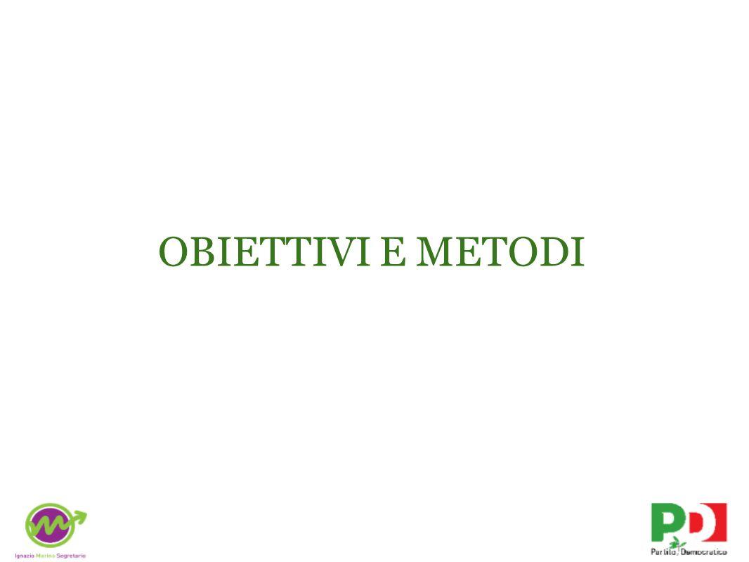 OBIETTIVI E METODI