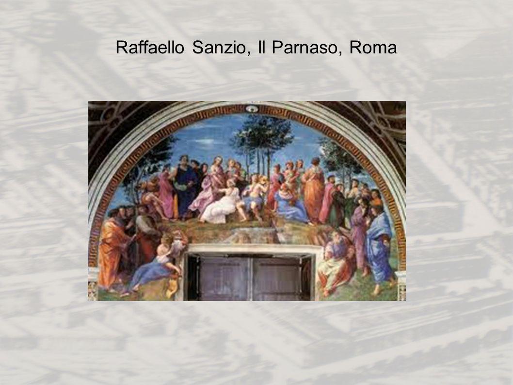 Raffaello Sanzio, Il Parnaso, Roma
