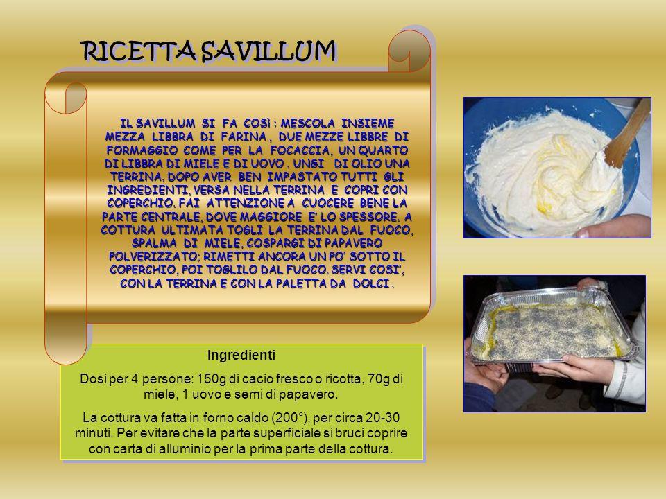 Ingredienti Dosi per 4 persone: 150g di cacio fresco o ricotta, 70g di miele, 1 uovo e semi di papavero.