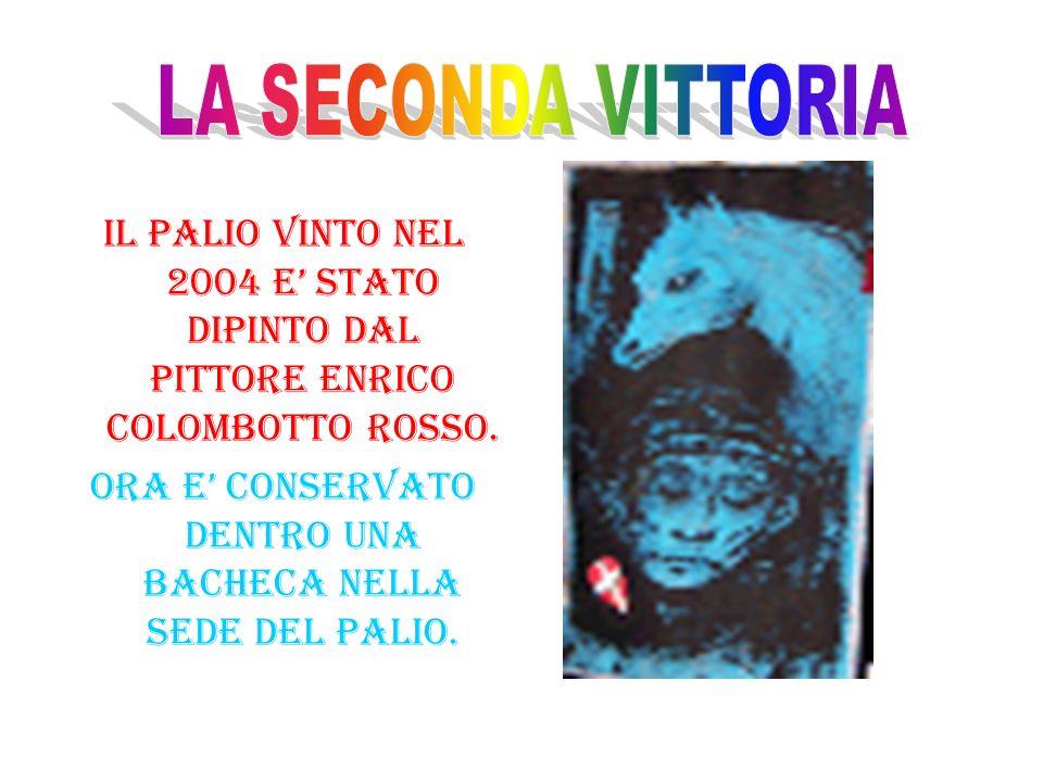 NEL 1976 IL BORGO TORRETTA HA VINTO IL PALIO DIPINTO DAL MAESTRO GEO BAUSSANO.