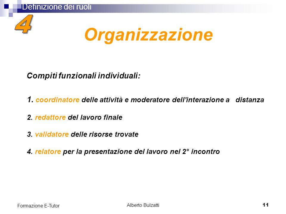Alberto Bulzatti11 Formazione E-Tutor 1.