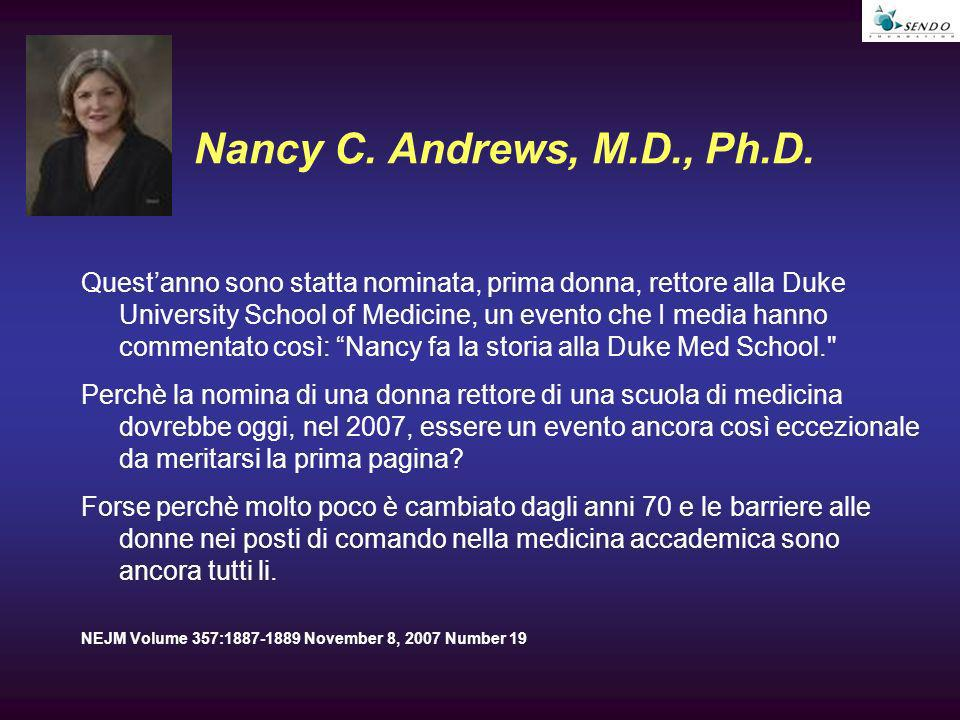 Nancy C. Andrews, M.D., Ph.D.