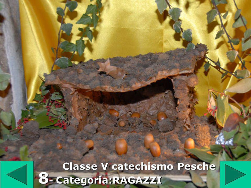 8 Classe V catechismo Pesche 8 - Categoria:RAGAZZI