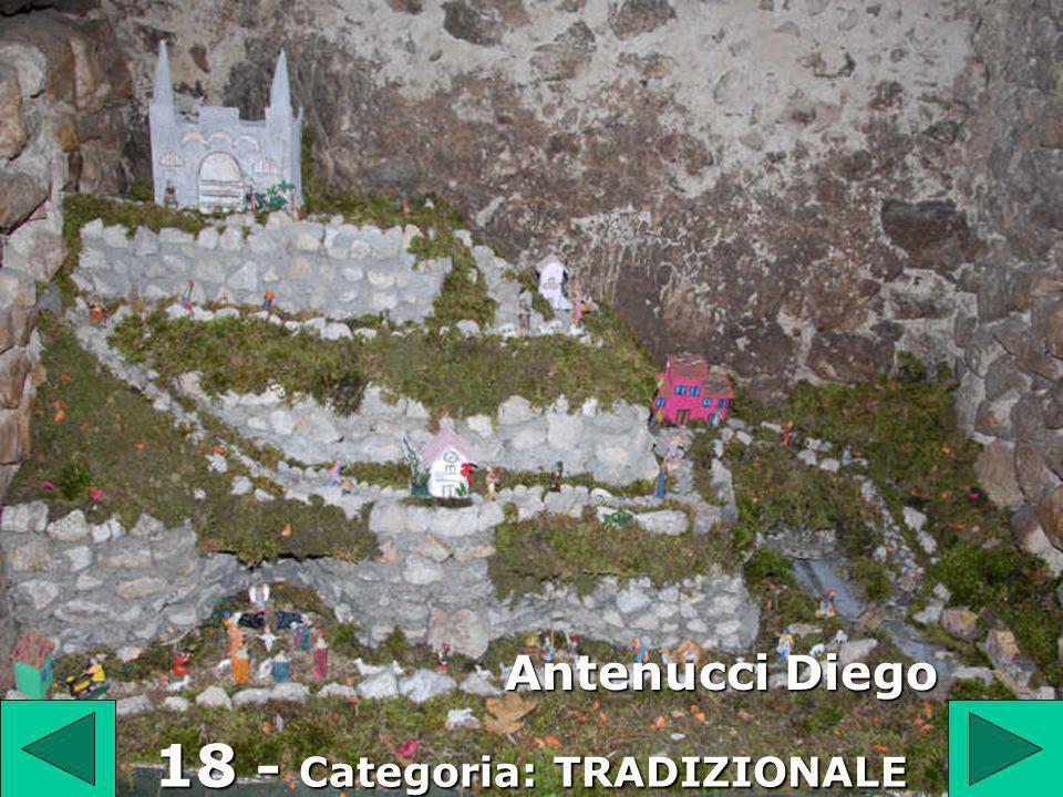 1 8 18 - Categoria: TRADIZIONALE Antenucci Diego