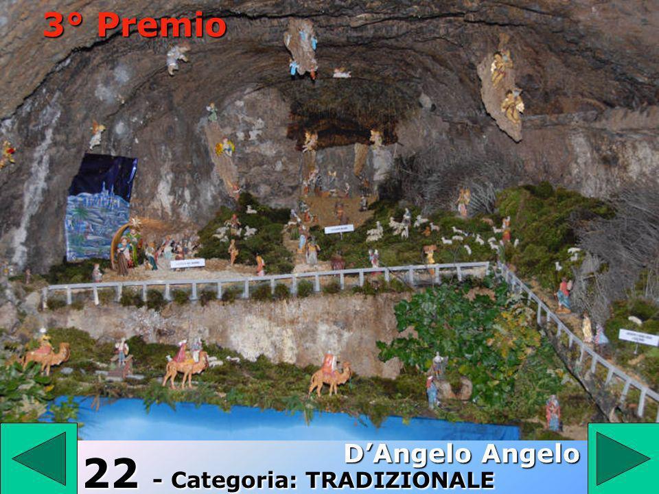 22 22 - Categoria: TRADIZIONALE DAngelo Angelo 3° Premio