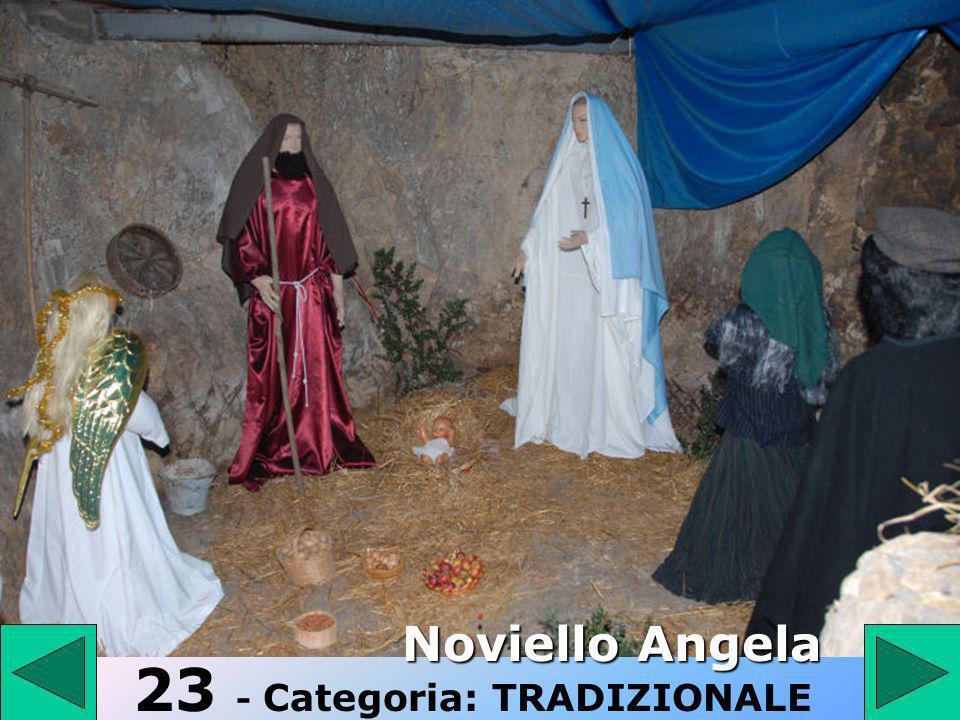 23 23 - Categoria: TRADIZIONALE Noviello Angela