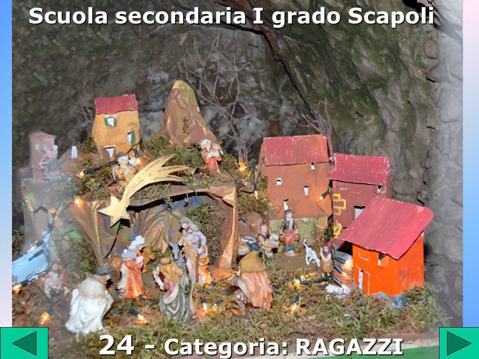 24 Scuola secondaria I grado Scapoli 24 - Categoria: RAGAZZI