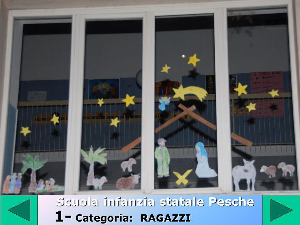 1 1- Categoria: RAGAZZI Scuola infanzia statale Pesche