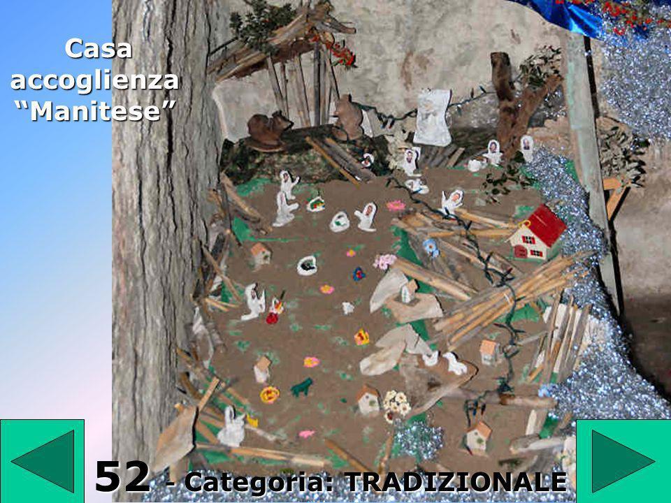 52 Casa accoglienza Manitese 52 - Categoria: TRADIZIONALE