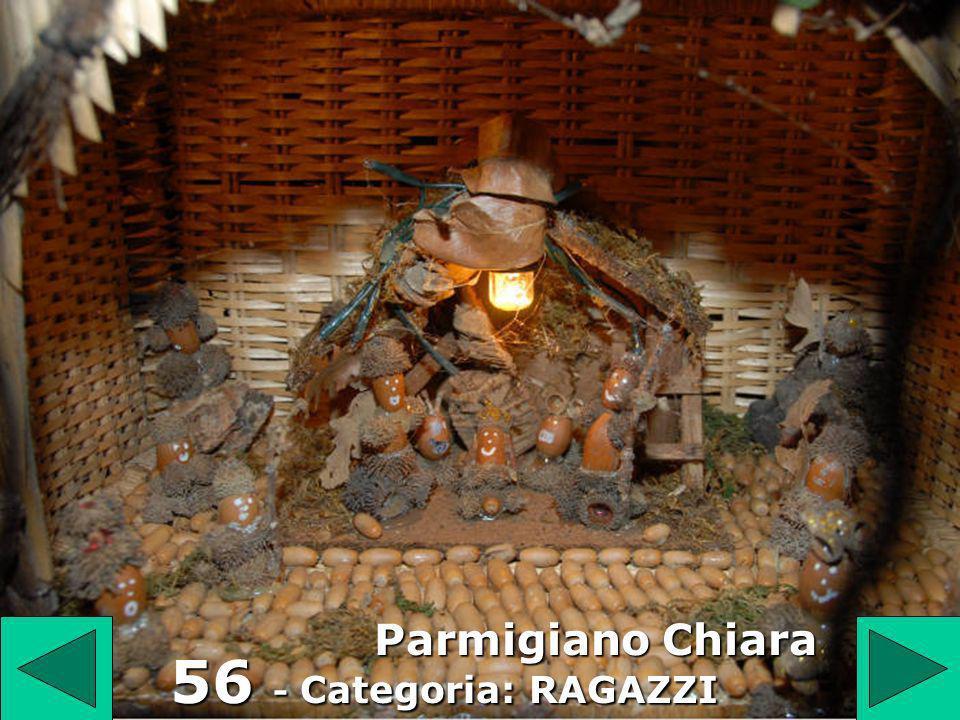 56 56 - Categoria: RAGAZZI Parmigiano Chiara