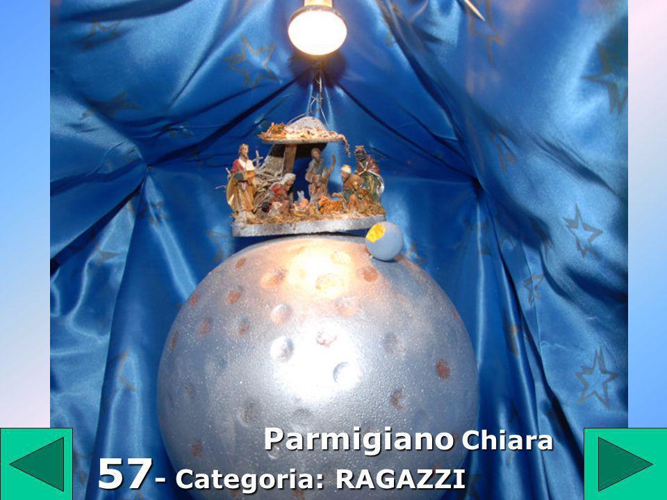 57 57 - Categoria: RAGAZZI Parmigiano Chiara