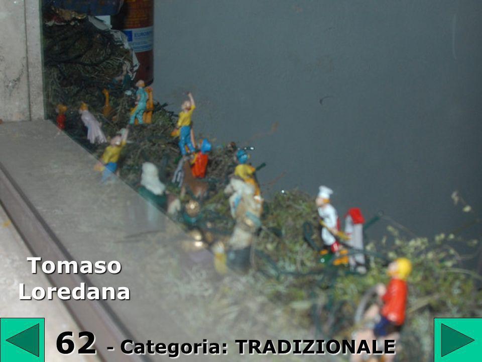 62 62 - Categoria: TRADIZIONALE Tomaso Loredana