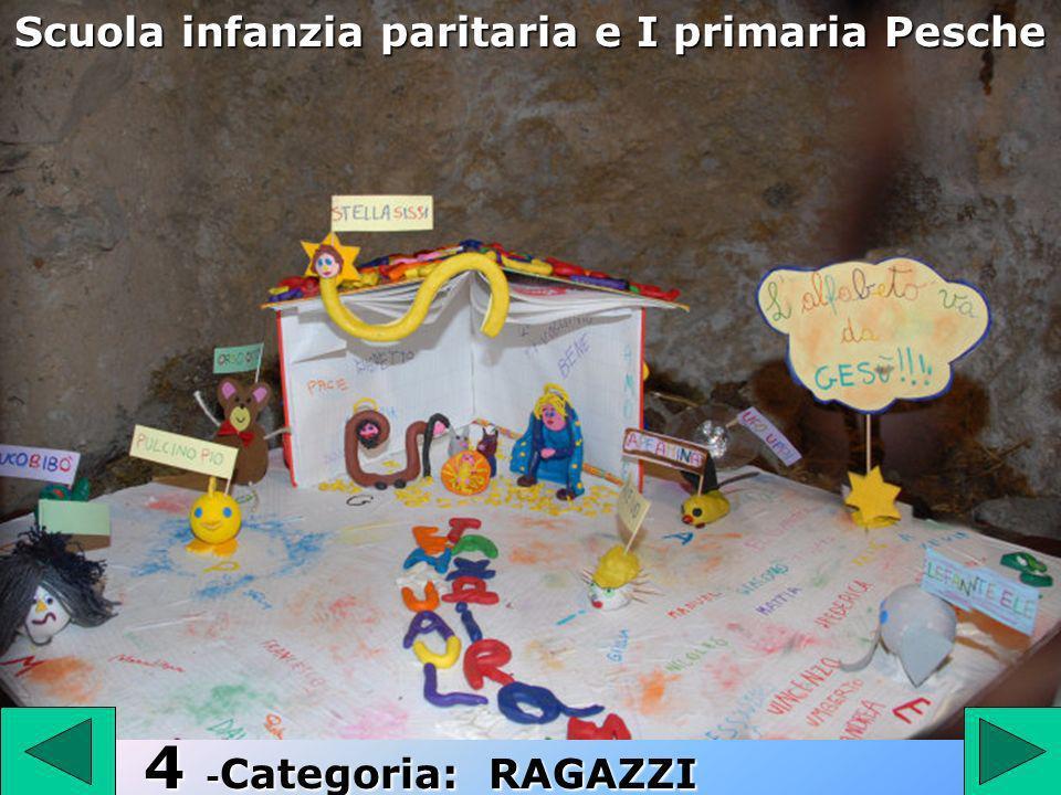 4 4 - Categoria: RAGAZZI Scuola infanzia paritaria e I primaria Pesche