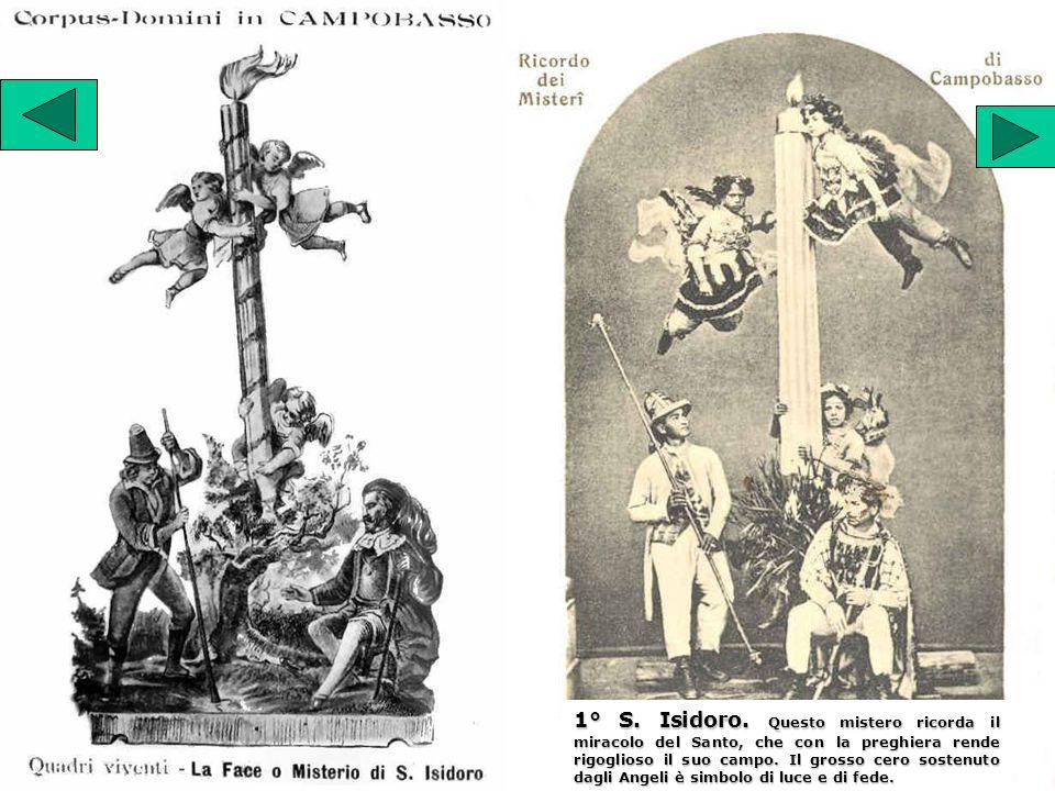 2° S. Crispino. La celeste visione gli annunzia il martirio.
