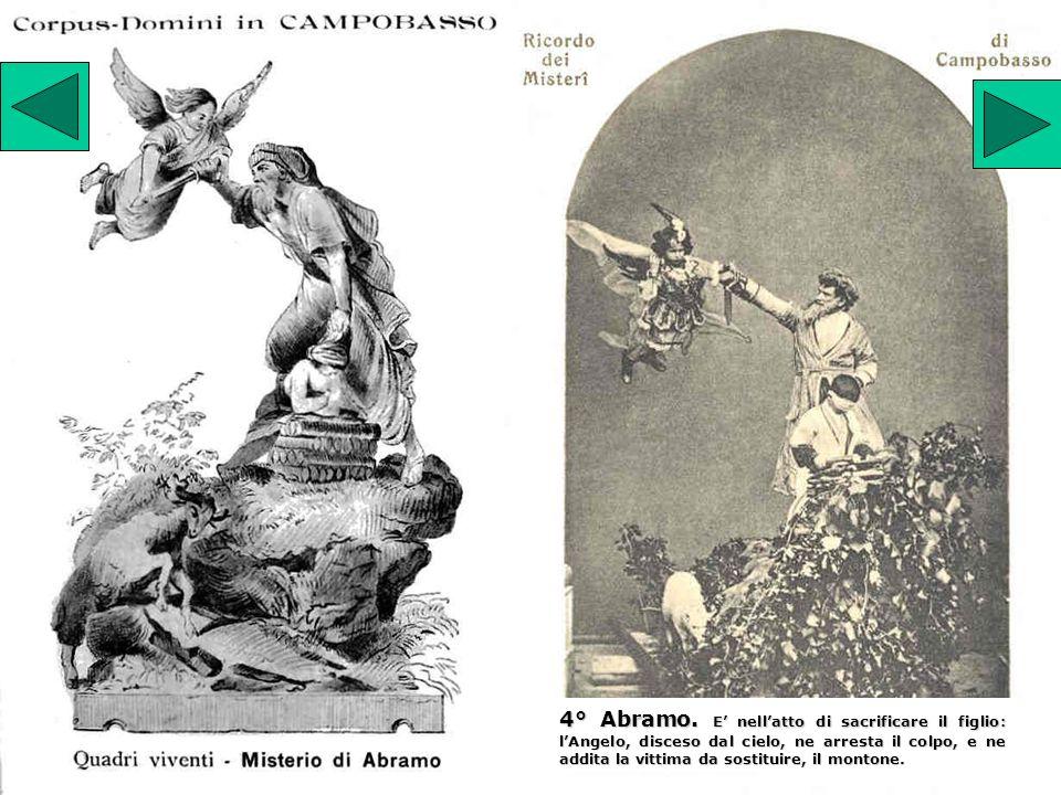 5° S.Maria Maddalena. La Santa si eleva su nel cielo dopo aver ricevuto lEucarestia.