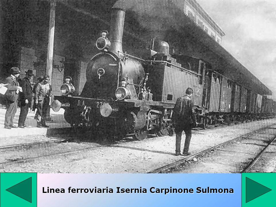 Linea ferroviaria Isernia Carpinone Sulmona