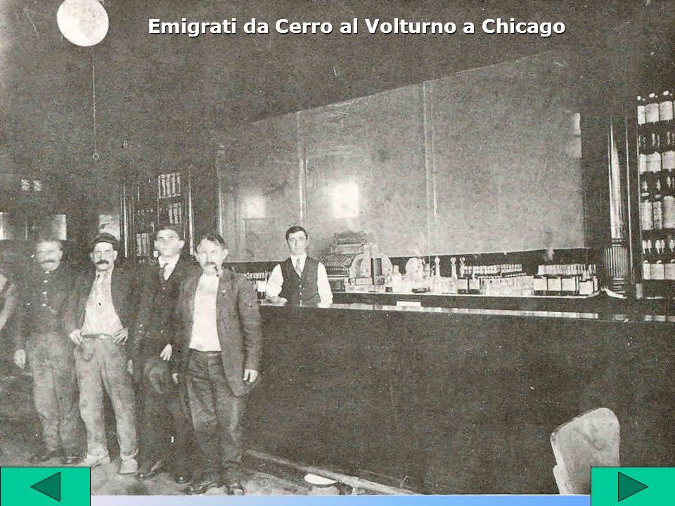 Emigrati da Cerro al Volturno a Chicago