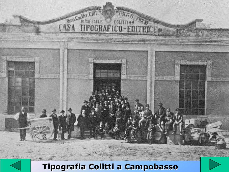 Tipografia Colitti a Campobasso