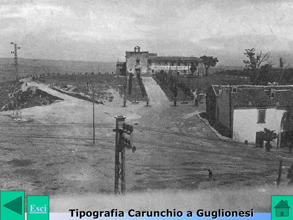 Esci Tipografia Carunchio a Guglionesi