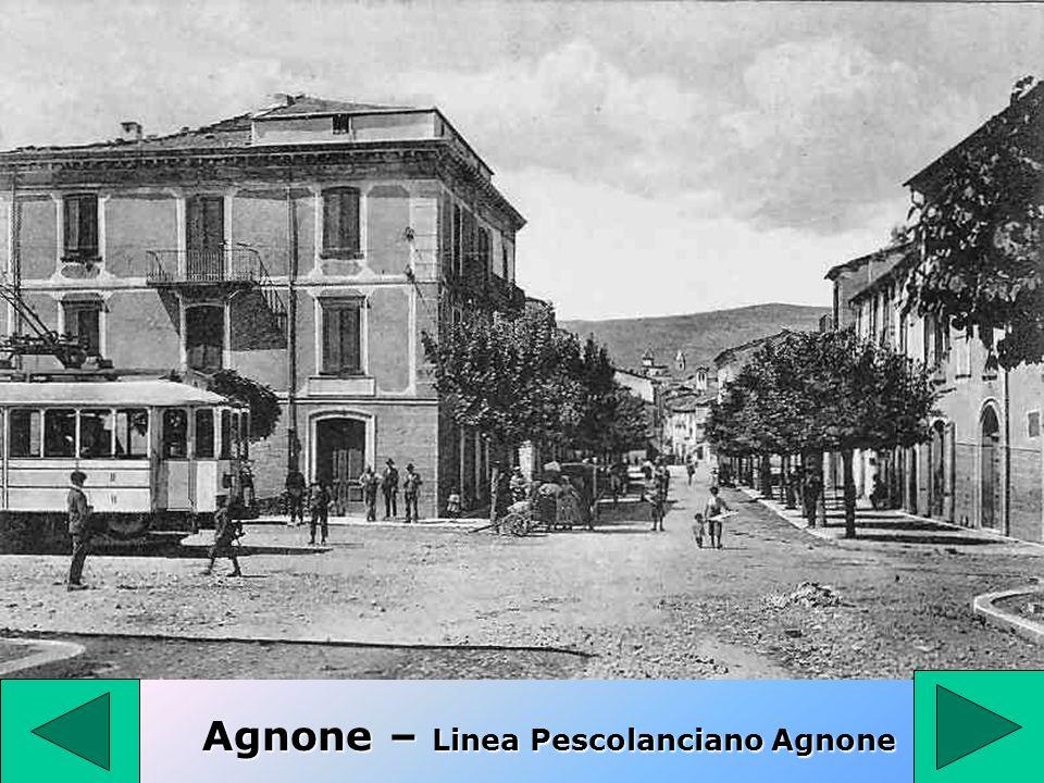 Agnone – Linea Pescolanciano Agnone