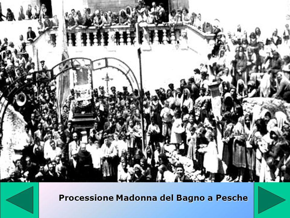 Processione Madonna del Bagno a Pesche