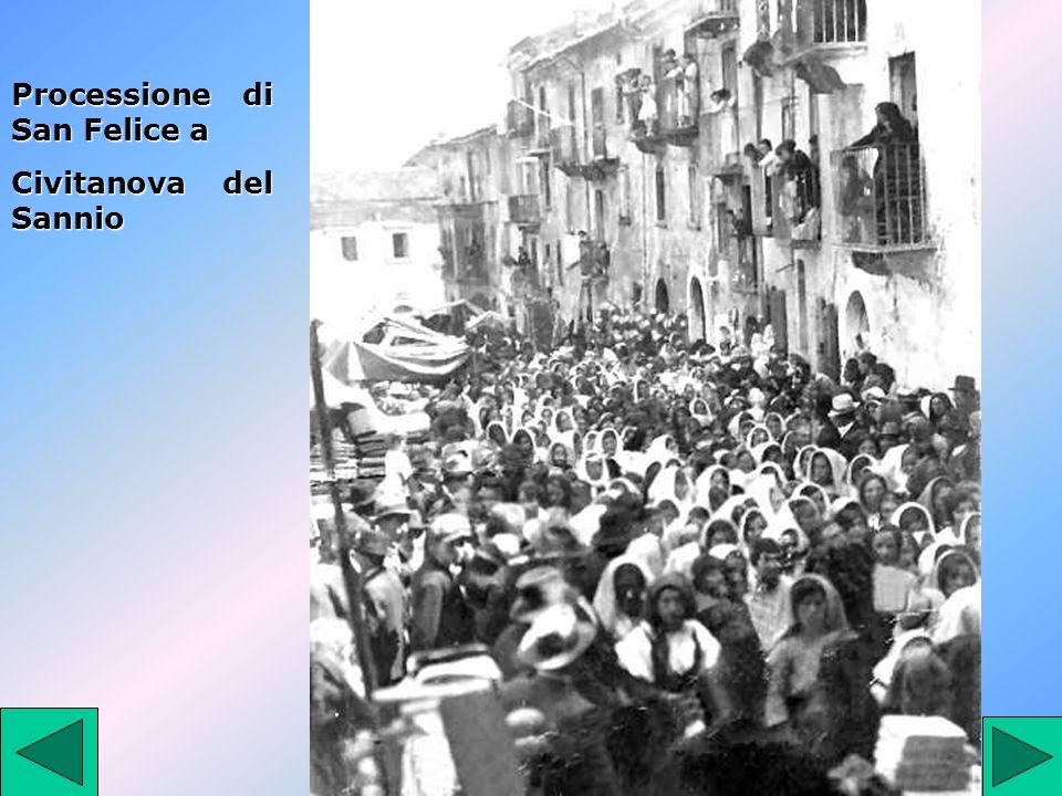 Processione di San Felice a Civitanova del Sannio