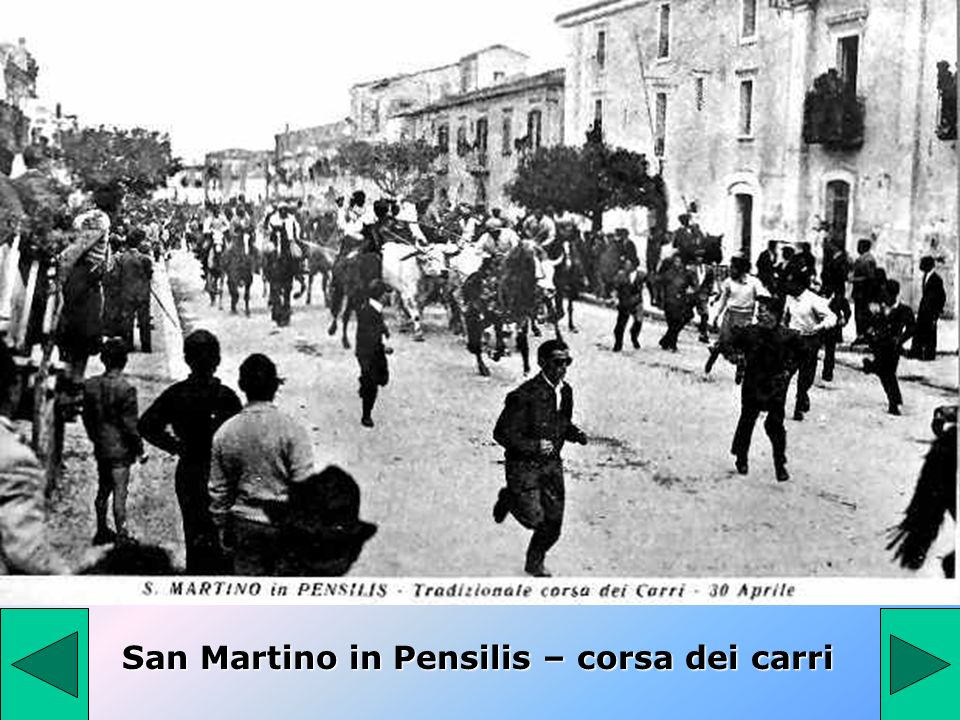 San Martino in Pensilis – corsa dei carri