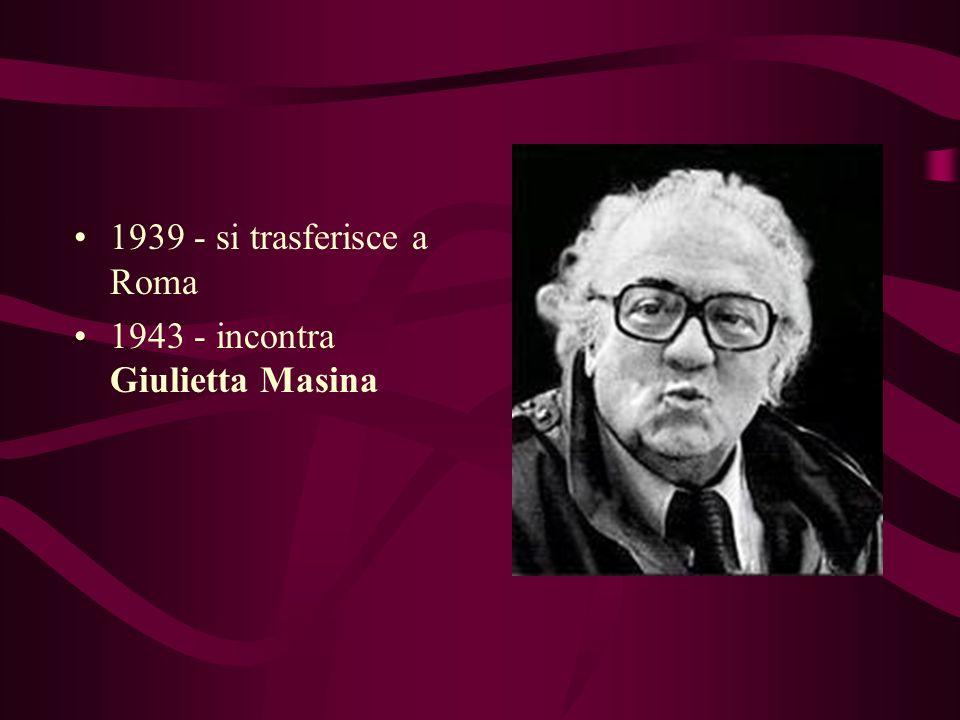 FEDERICO FELLINI Regista, sceneggiatore, attore e disegnatore di vignette 20 gennaio 1920 - è nato a Rimini
