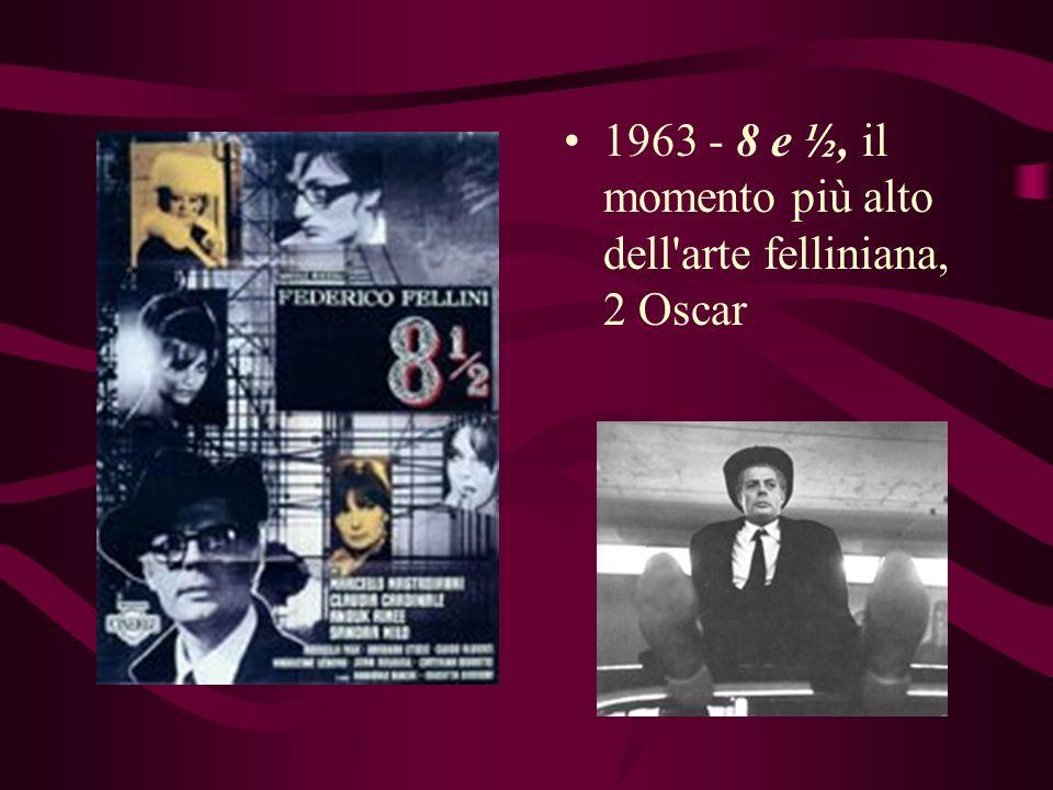 1959 - La dolce vita, la Palma d'Oro al Festival di Cannes