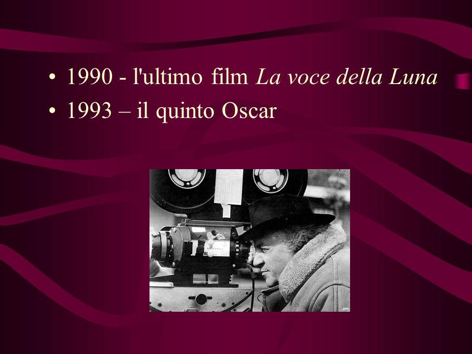 1963 - 8 e ½, il momento più alto dell'arte felliniana, 2 Oscar