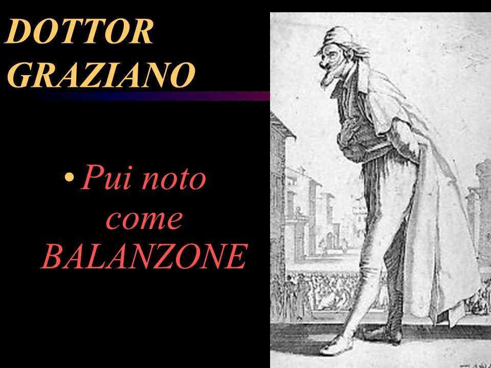 DOTTOR GRAZIANO Pui noto come BALANZONE