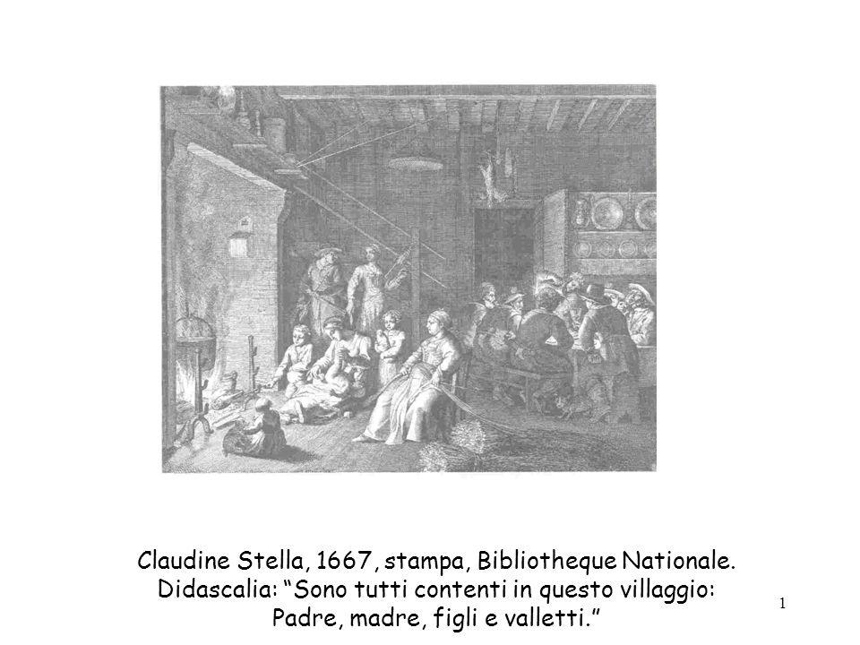 12 Incisione di una scuola di villaggio tratta dal libro di Nicolas de la Bretonne, La vie de mon père, Parigi, 1779.