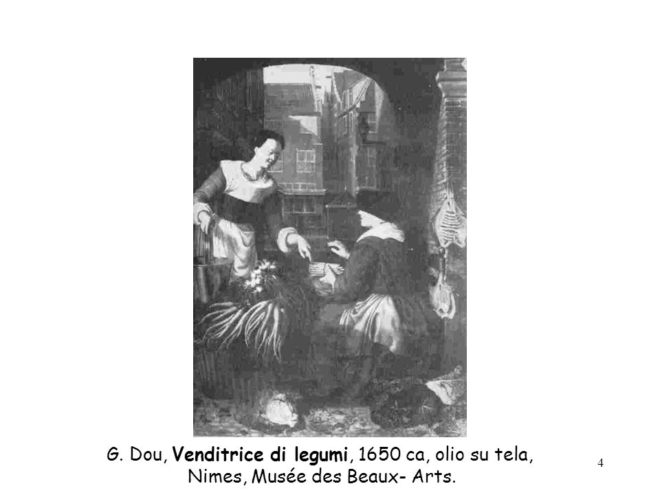 5 Joachim Beuckelaer, Mercato del pesce, 1570, olio su tela, Coll. Farnese.